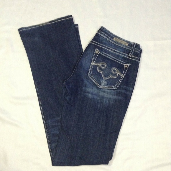 Express Denim - Rock For Express 4L Boot Cut Womens